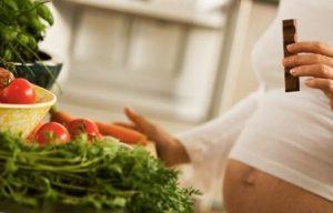 диета беременной девушки