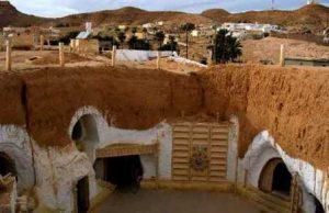 Город пещер Матмата