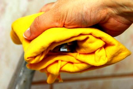 Как убрать известковый налет