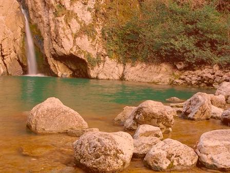 Агурские водопады в Сочи как добраться