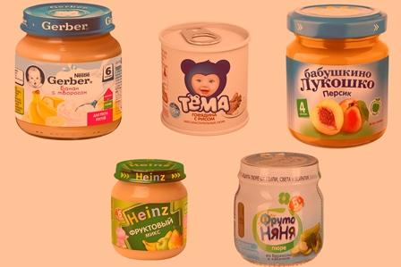 Как выбрать детское питание для прикорма
