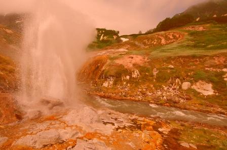 Долина гейзеров на Камчатке кратко