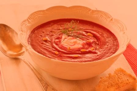 Суп пюре из свеклы