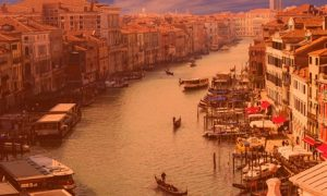 Путешествие по Италии канал гранде