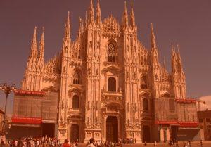 Путешествие по Италии собор Duomo di Milano