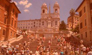 что посмотреть в Риме Испанская лестница