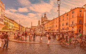 что посмотреть в Риме Пьяцца Навона