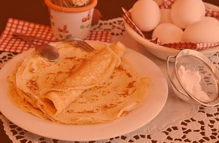 Рецепт как приготовить блины на молоке
