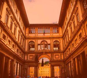 Путешествие по Италии галерея уффици