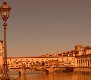 Путешествие по Италии мост Ponte Vecchio