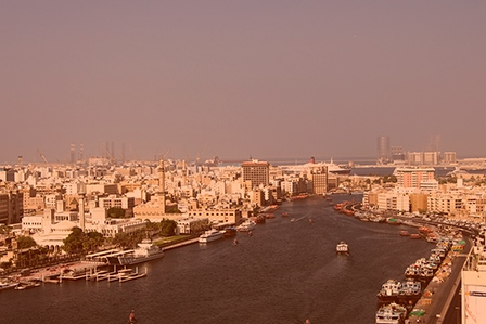 Залив Дубай Крик