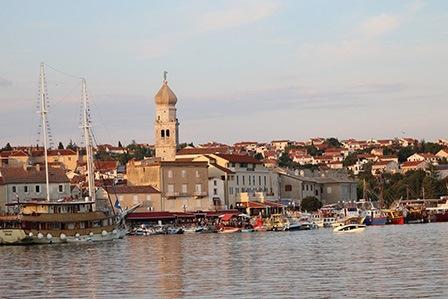 остров Крк в Хорватии