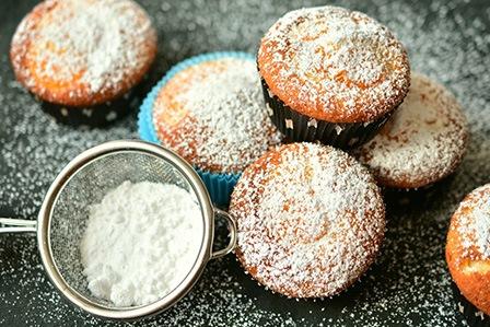 простой рецепт бисквитных кексов