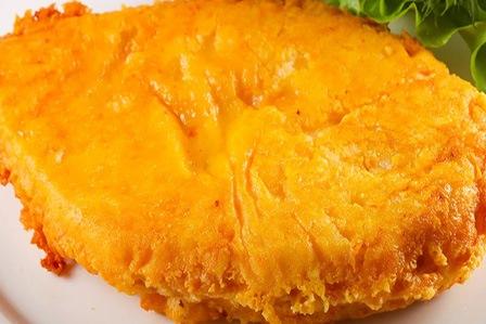 куриная отбивная с сыром на сковороде