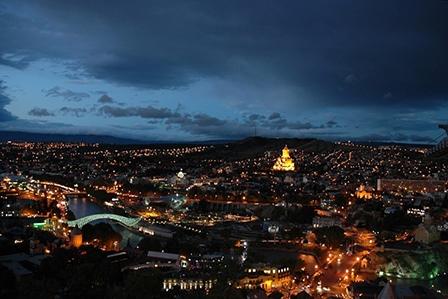 ночь в Тбилиси