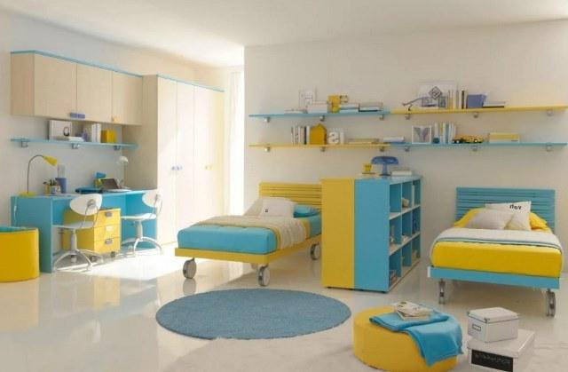 дизайн комнаты для двойняшек