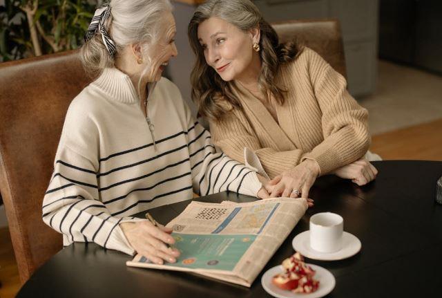 Мода для пожилых женщин